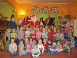 To był wspaniały dzień :-) Pozdrawiamy Cię Święty Mikołaju! :-)