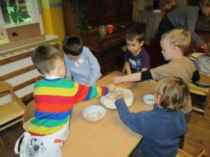 Artusiowi chłopcy to doskonali kucharze! :-)